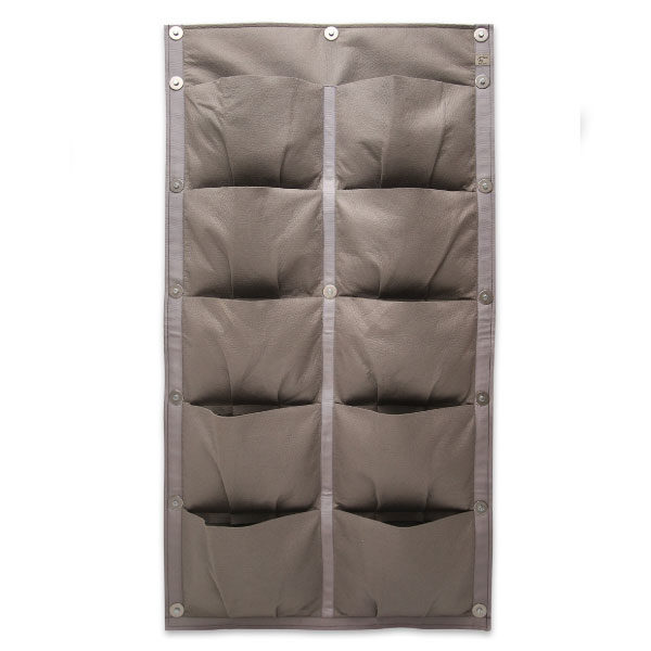 vertical garden, 10 pocket panel, 10 pockets, vertical vegetables, garden, grow, home grown, grow your own