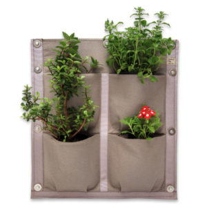 vertical garden, 4 pocket panel, 4 pockets, vertical vegetables, garden, grow, home grown, grow your own
