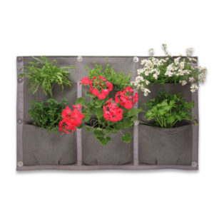 vertical garden, 6 pocket panel, 6 pockets, vertical vegetables, garden, grow, home grown, grow your own